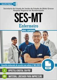 Enfermeiro - SES-MT - Hospital Regional de Rondonópolis