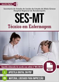 Técnico em Enfermagem - SES-MT - Hospital Regional de Rondonópolis