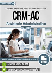 Assistente Administrativo - CRM-AC
