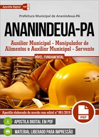 Auxiliar Municipal - Prefeitura de Ananindeua - PA