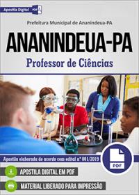 Professor de Ciências - Prefeitura de Ananindeua - PA