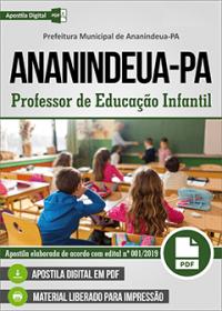 Professor de Educação Infantil - Prefeitura de Ananindeua - PA