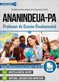 Professor de Ensino Fundamental - Prefeitura de Ananindeua - PA