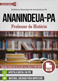 Professor de História - Prefeitura de Ananindeua - PA