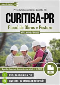 Fiscal de Obras e Postura - Prefeitura de Curitiba - PR