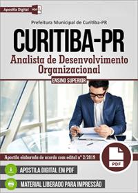 Analista de Desenvolvimento Organizacional - Prefeitura de Curitiba - PR
