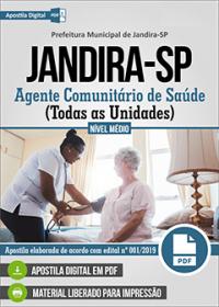Agente Comunitário de Saúde - Prefeitura de Jandira - SP