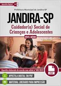 Cuidador Social de Crianças e Adolescentes - Prefeitura de Jandira - SP