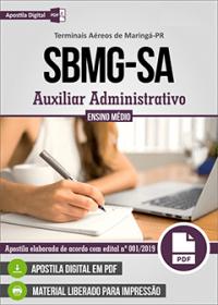 Auxiliar Administrativo - SBMG-SA - Terminais Aéreos de Maringá - PR