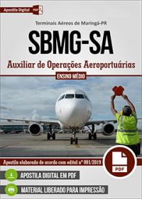 Auxiliar de Operações Aeroportuárias - SBMG-SA - Terminais Aéreos de Maringá - P
