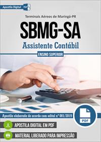 Assistente Contábil - SBMG-SA - Terminais Aéreos de Maringá - PR