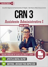Assistente Administrativo I - CRN 3