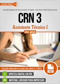 Assistente Técnico I - CRN 3
