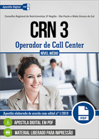 Operador de Call Center - CRN 3
