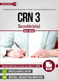Secretário - CRN 3