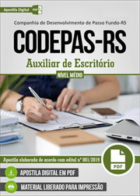 Auxiliar de Escritório - CODEPAS-RS