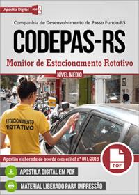 Monitor de Estacionamento Rotativo - CODEPAS-RS