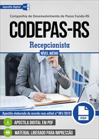 Recepcionista - CODEPAS-RS