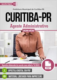 Agente Administrativo - Prefeitura de Curitiba - PR