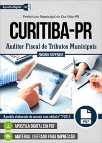 Auditor Fiscal de Tributos Municipais - Prefeitura de Curitiba-PR
