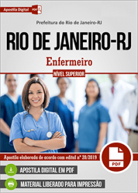 Enfermeiro - Prefeitura do Rio de Janeiro - RJ