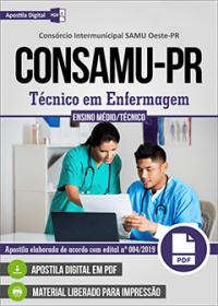 Técnico em Enfermagem - CONSAMU-PR