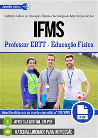 Professor EBTT - Educação Física - IFMS
