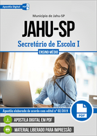 Secretário de Escola I - Prefeitura de Jahu - SP