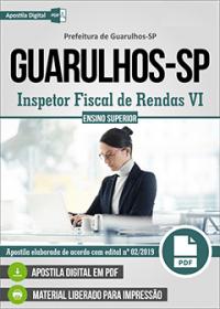 Inspetor Fiscal de Rendas VI - Prefeitura de Guarulhos-SP