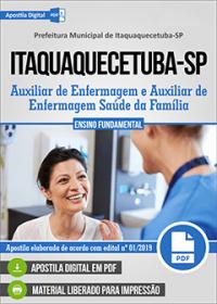 Auxiliar de Enfermagem - Prefeitura de Itaquaquecetuba - SP