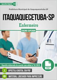 Enfermeiro - Prefeitura de Itaquaquecetuba - SP