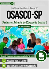 Professor Adjunto de Educação Básica I - Prefeitura de Osasco - SP