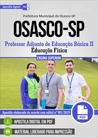 Professor Adjunto de Educação Básica II - Prefeitura de Osasco - SP