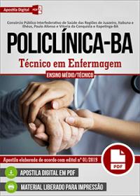 Técnico em Enfermagem - POLICLÍNICA - BA