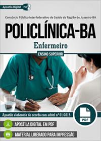 Enfermeiro - POLICLÍNICA - Juazeiro - BA