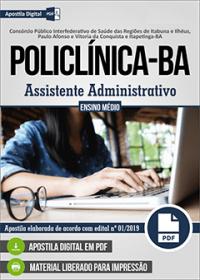 Assistente Administrativo - POLICLÍNICA - BA
