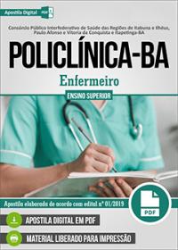 Enfermeiro - POLICLÍNICA - BA