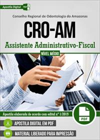 Assistente Administrativo-Fiscal - CRO-AM