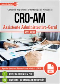 Assistente Administrativo-Geral - CRO-AM