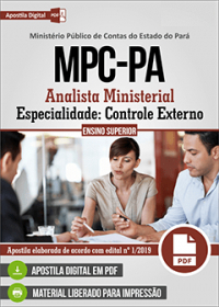 Analista Ministerial - Controle Externo - MPC-PA
