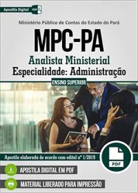 Analista Ministerial - Administração - MPC-PA