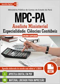 Analista Ministerial - Ciências Contábeis - MPC-PA