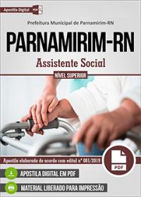 Assistente Social - Prefeitura de Parnamirim - RN