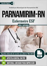 Enfermeiro ESF - Prefeitura de Parnamirim - RN