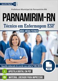 Técnico em Enfermagem ESF - Prefeitura de Parnamirim - RN