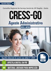 Agente Administrativo - CRESS-GO
