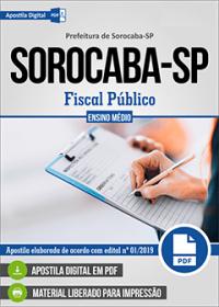 Fiscal Público - Prefeitura de Sorocaba - SP