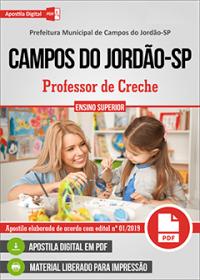 Professor de Creche - Prefeitura de Campos do Jordão-SP