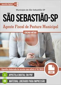 Agente Fiscal de Postura Municipal - Prefeitura de São Sebastião - SP