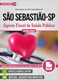 Agente Fiscal de Saúde Pública - Prefeitura de São Sebastião - SP